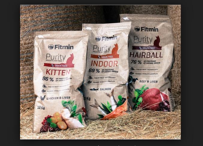 Thức ăn mèo Fitmin Purity Kitten