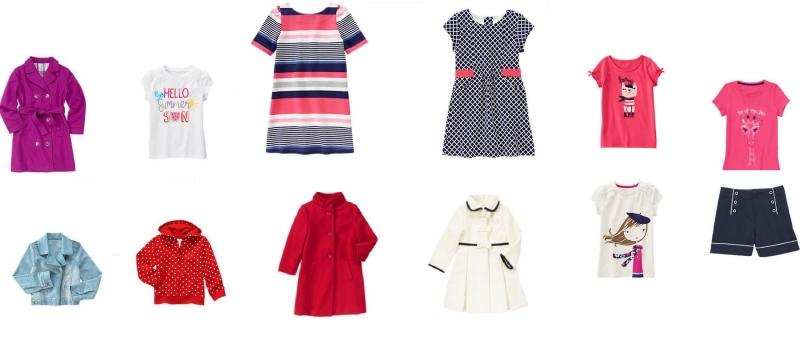 Mẫu thời trang cho bé gái