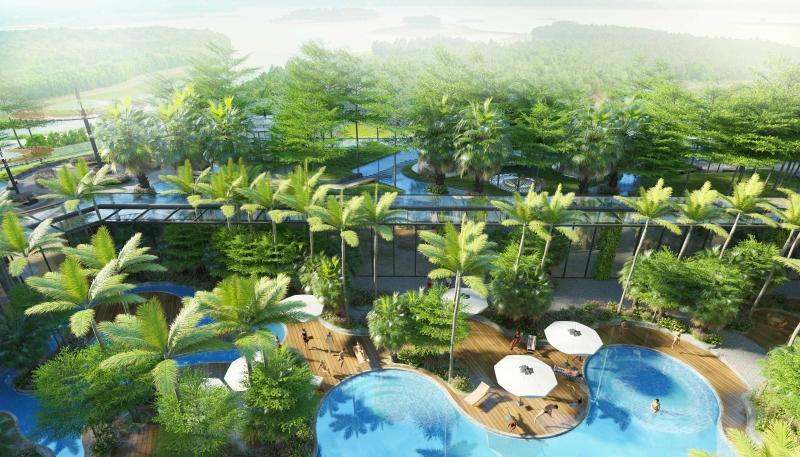 Biệt thự Forest Sky Villa  - Flamingo Đại Lải Resort