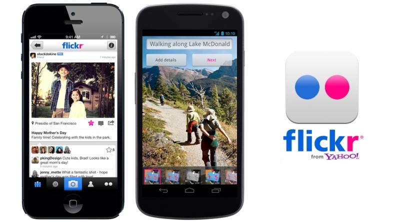Ứng dụng Flickr giúp bạn chia sẻ hình ảnh của mình cực kì nhanh chóng