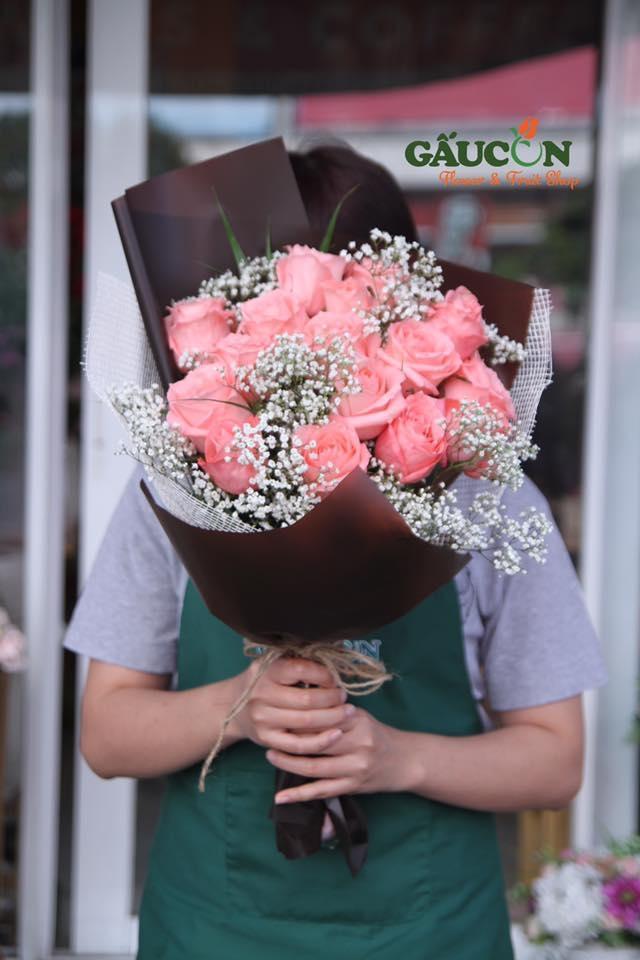 Một bó hoa của Gấu Con Flower thay cho lời yêu thương..