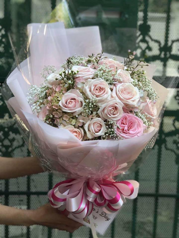 Một bó hoa tươi FSS như một lời chúc phúc cho tình yêu luôn tươi mới