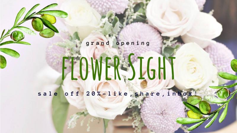 FlowerSight - Shop Hoa Tươi