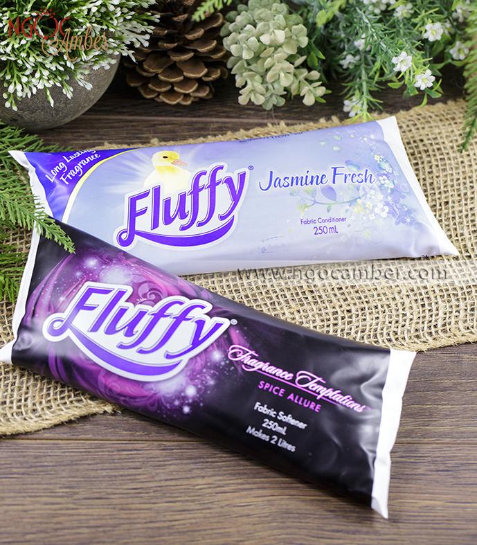 Nước xả vải và làm thơm tủ quần áo Fluffy Úc