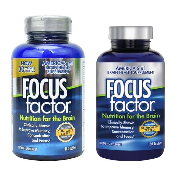 Focus factor 150 viên thuốc bổ não, tăng cường trí nhớ, giảm stress