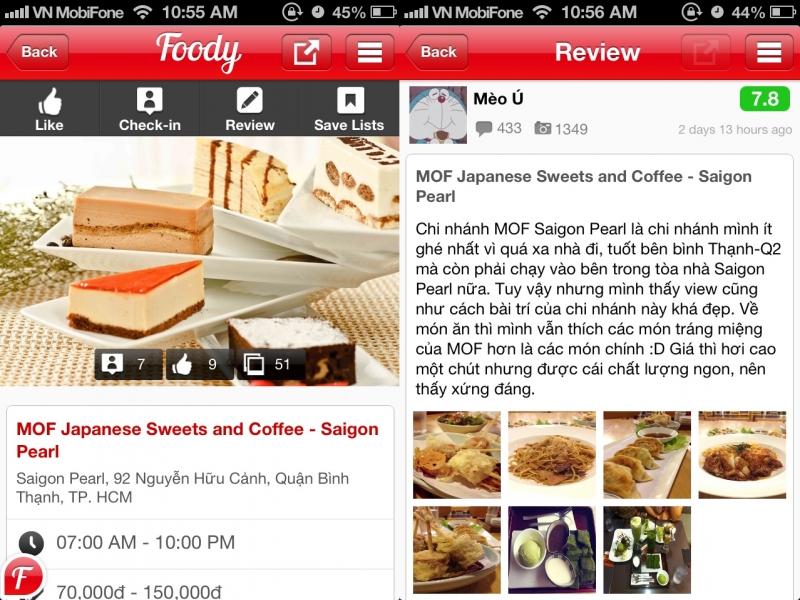 Foody là một trang website ẩm thực quá quen thuộc và đáng tin cậy đối với tất cả mọi người