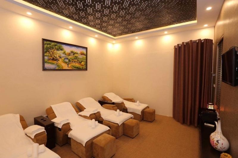 Không gian ấm áp của Hương Bình Foot Massage