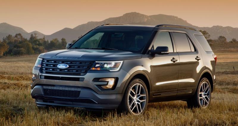 Ford Explorer sẽ là đối thủ với các xe SUV hạng sang cỡ nhỏ BMW, Mercedes, Mazda