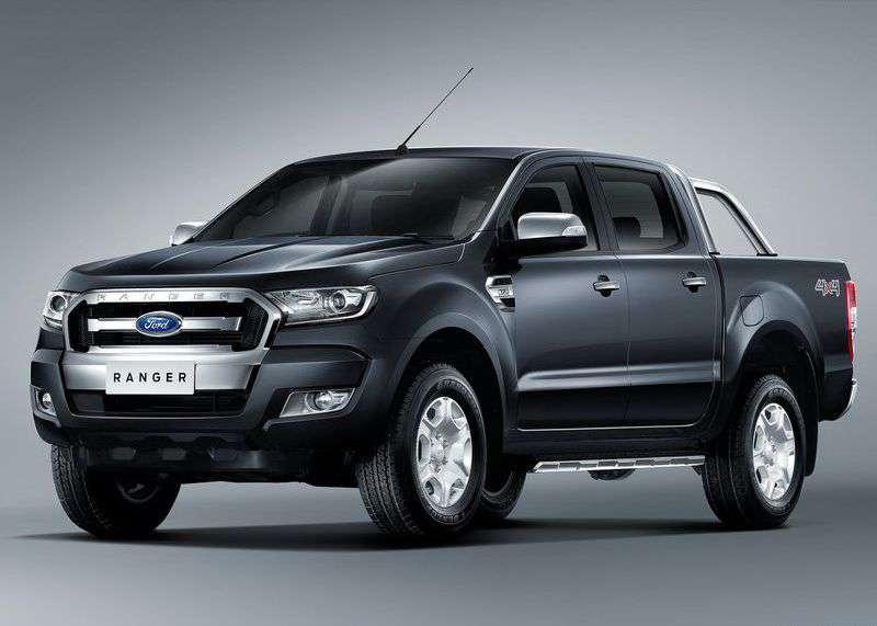 Ford Ranger - huyền thoại bán tải không có đối thủ của Ford