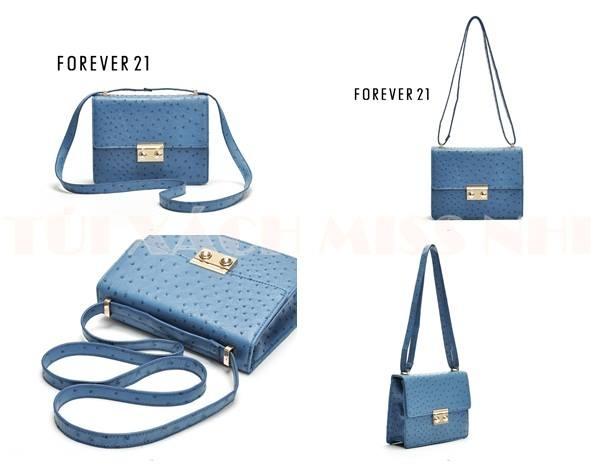 Chiếc túi xanh dương thanh lịch này có giá bán khoảng 600.000vnđ.