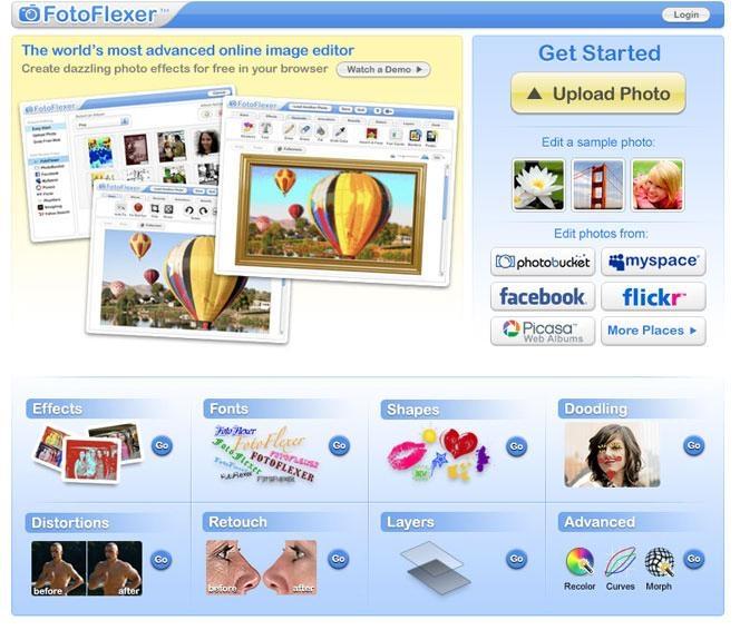 Hình ảnh trang web