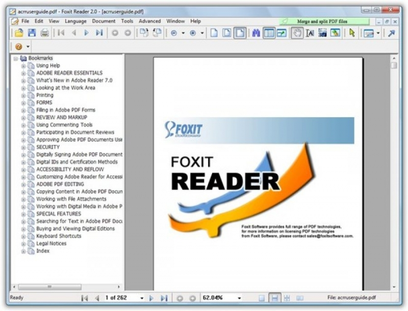 phần mềm foxit reader có nhiều tiện ích