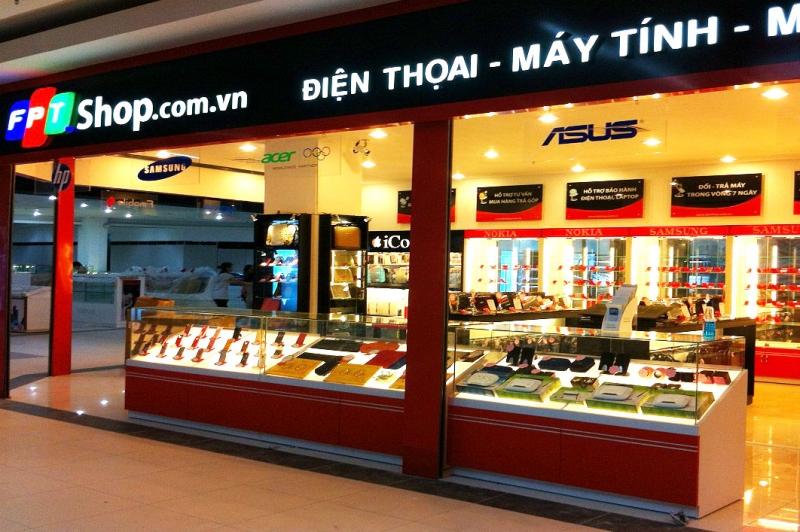 Một cửa hàng thuộc hệ thống FPT Shop