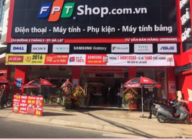 FPT Shop - Nơi mua Smartphone uy tín