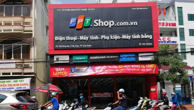 FPT Shop chi nhánh 316 đường Trần Hưng Đạo, phường Mỹ Long, TP. Long Xuyên, tỉnh An Giang