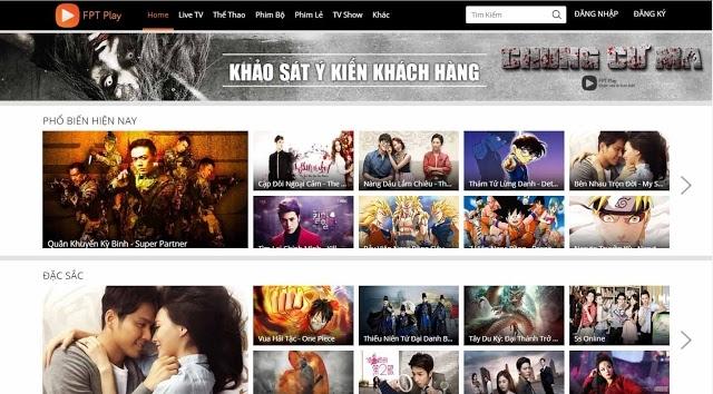 Fptplay.net còn là một trang web cho phép xem truyền hình trực tiếp với chất lượng cao