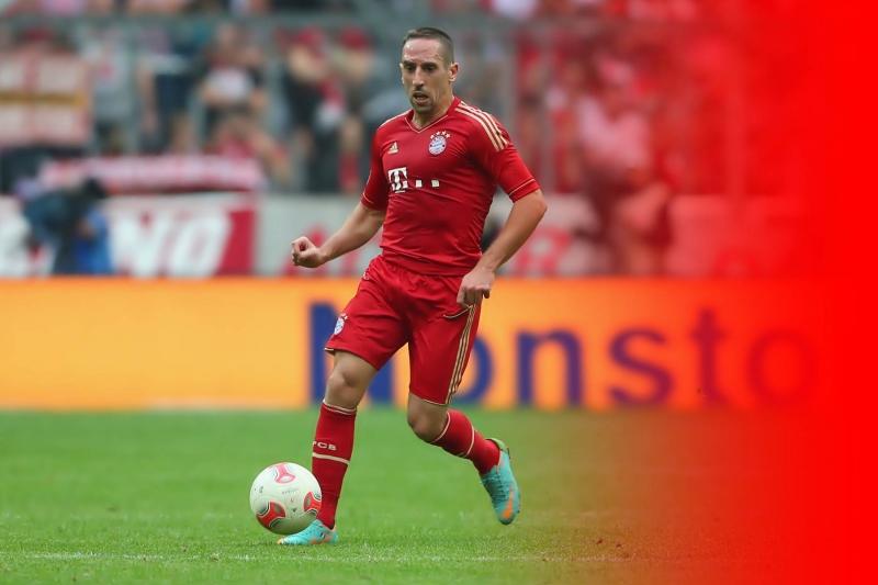 Ribery không còn sung sức như ngày xưa