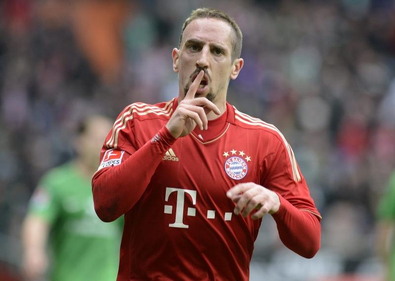 Giữa Ribery và Van Gaal tồn tại vấn đề rất lớn