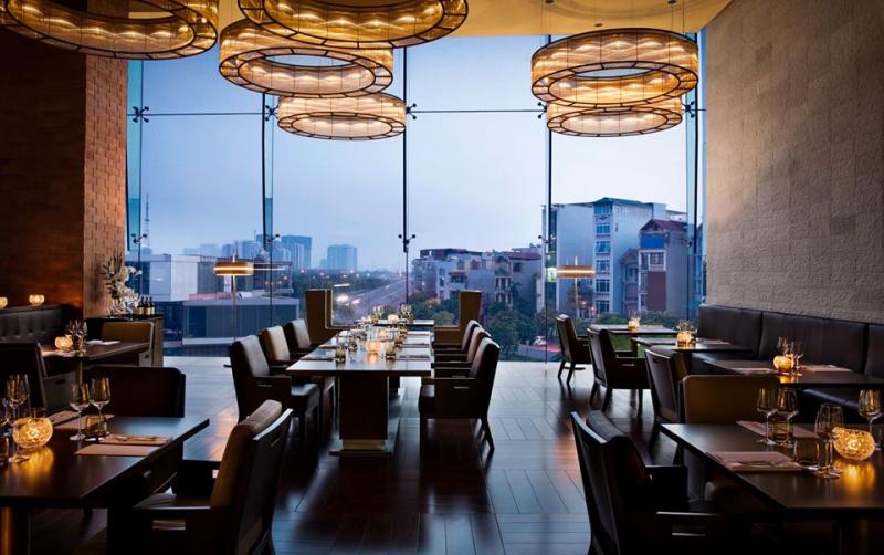 Không gian ẩm thực sang trọng bậc nhất tại French Grill - JW Marriott Hotel Hanoi