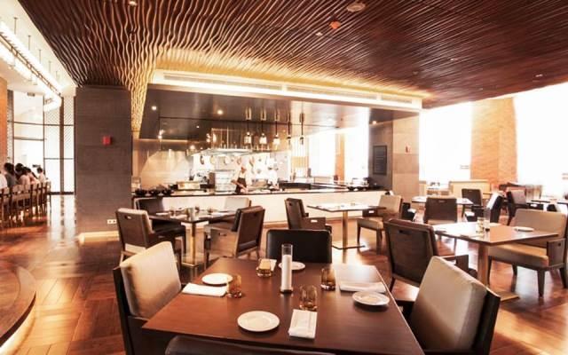 Không gian kiến trúc độc đáo ở nhà hàng