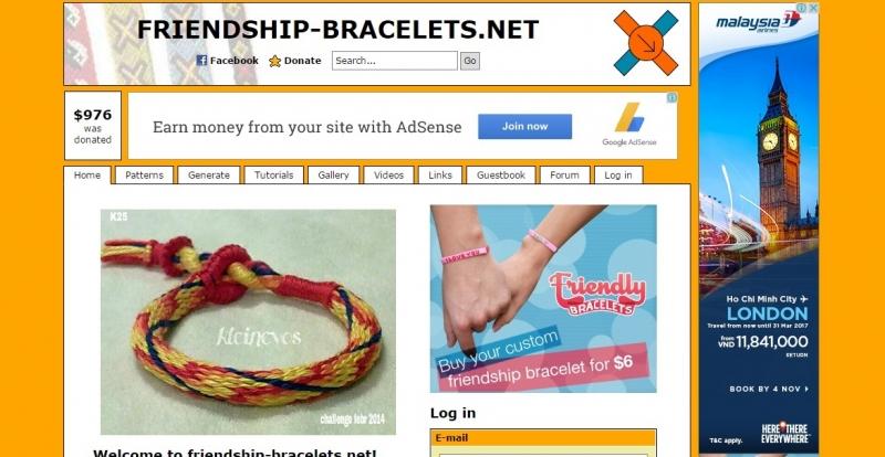 Friendship-bracelets.net