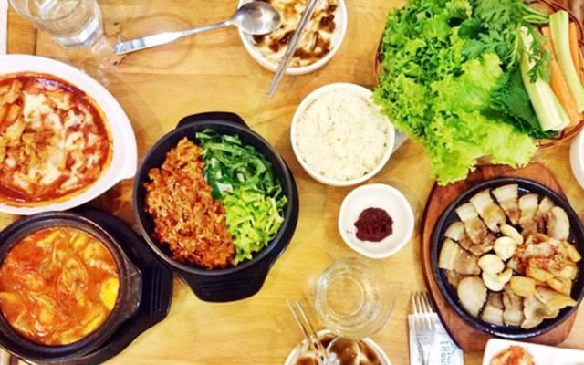 Những món bắt mắt của Full House Korean Restaurant