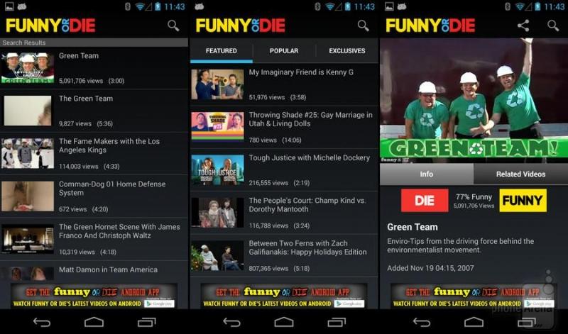 Ứng dụng  Funny or Die