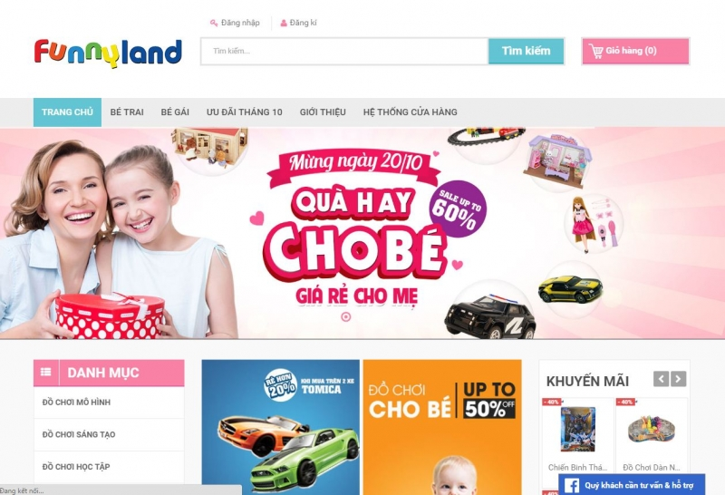 Là nơi chuyên hội tụ các thương hiệu thời trang lớn trên thế giới, Funny Land cam kết mang đến cho các thiên thần nhỏ những sản phẩm đồ chơi độc đáo cả về kiểu dáng lẫn chất lượng.