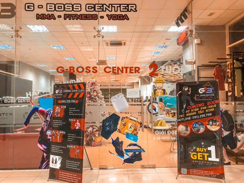 G-Boss Center Topaz City