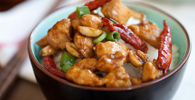Món gà Kung Pao Trung Quốc
