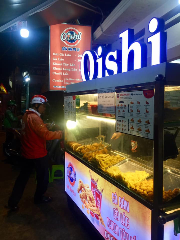 Gà Rán Oishi - Giòn Tan Mê Ly