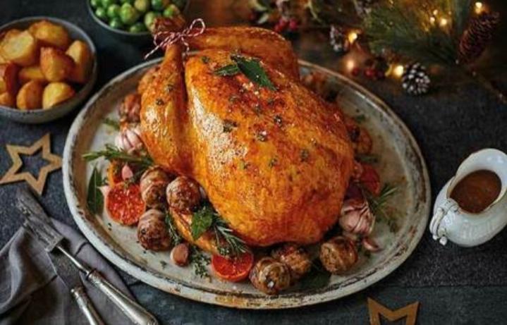 Món thịt gà tây Noel