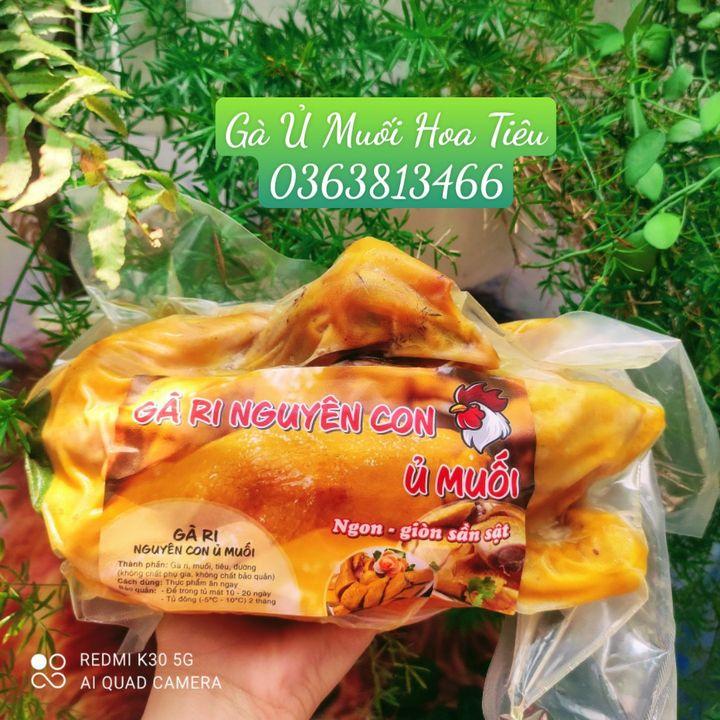 Gà Ủ Muối Hoa Tiêu - Thực phẩm an toàn