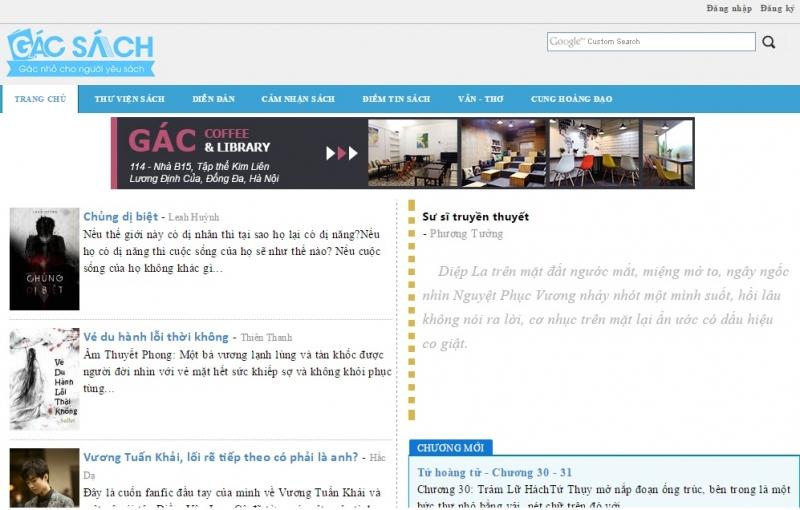 Website của Gacsach.com