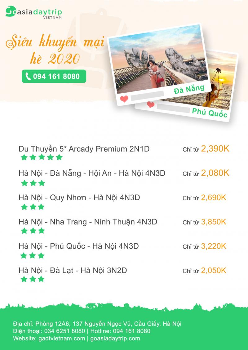 GADT Việt Nam (Công ty GoAsiaDayTrip)