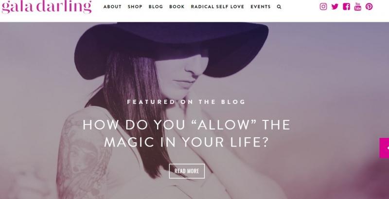 Trang web của Gaga Darling