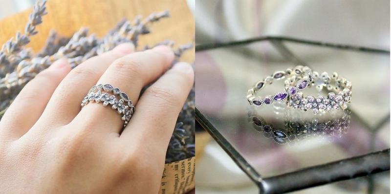 Ngoài vòng tay, nhẫn đá thiên nhiên của GaiA by Yang cũng rất được yêu thích (Nguồn: Sưu tầm)