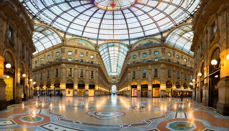 Galleria Vittorio Emanuelle - Milan - Ý