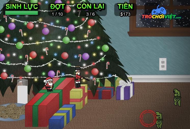 Ông già Noel bảo vệ quà