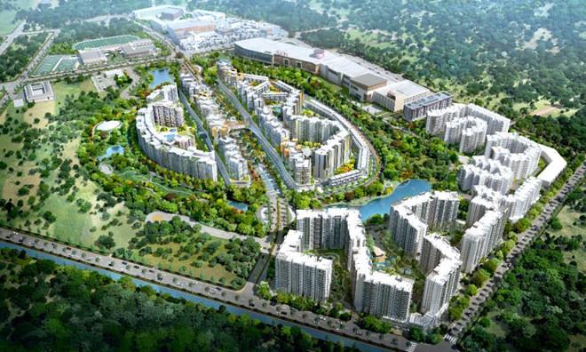 Celadon City là dự án xanh của Gamuda Land