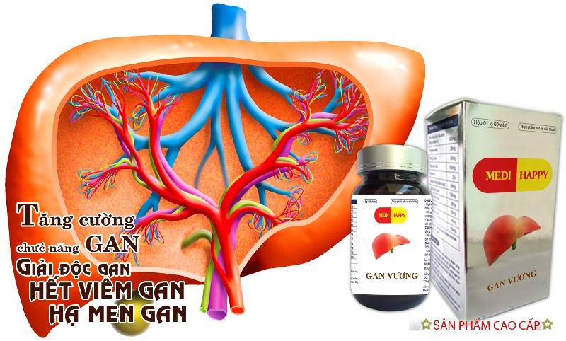 Gan Vương – Thảo dược hỗ trợ điều trị viêm gan, xơ gan, men gan cao