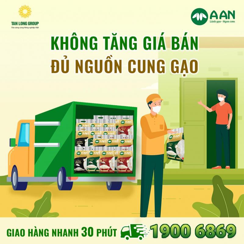 Gạo A An Tân Long Chi Nhánh Nghệ An - Hà Tĩnh