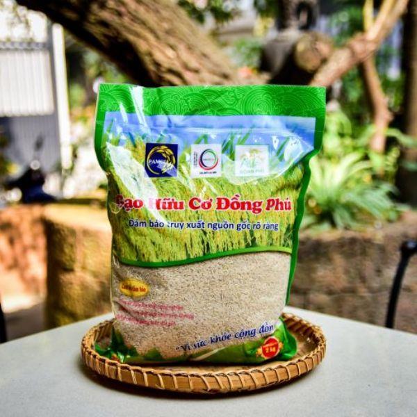 Gạo hữu cơ Đồng Phú