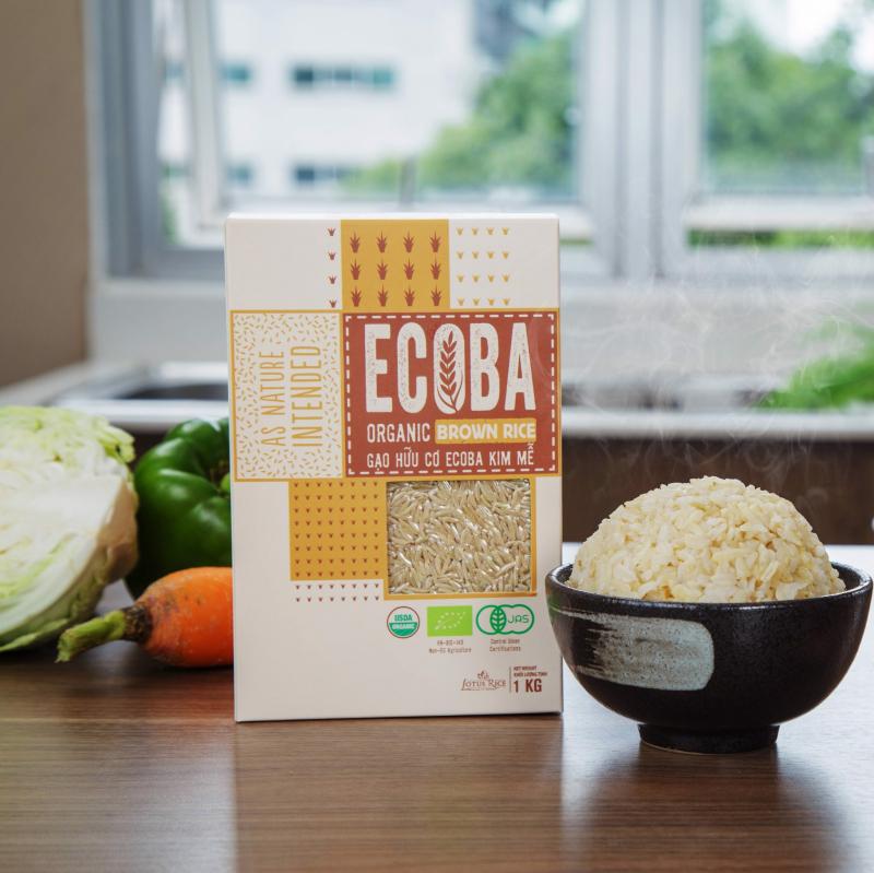 Gạo hữu cơ ECOBA