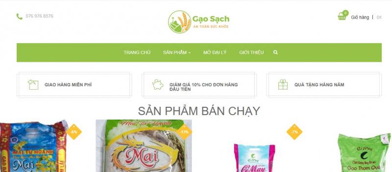 Gạo Sạch Đà Nẵng