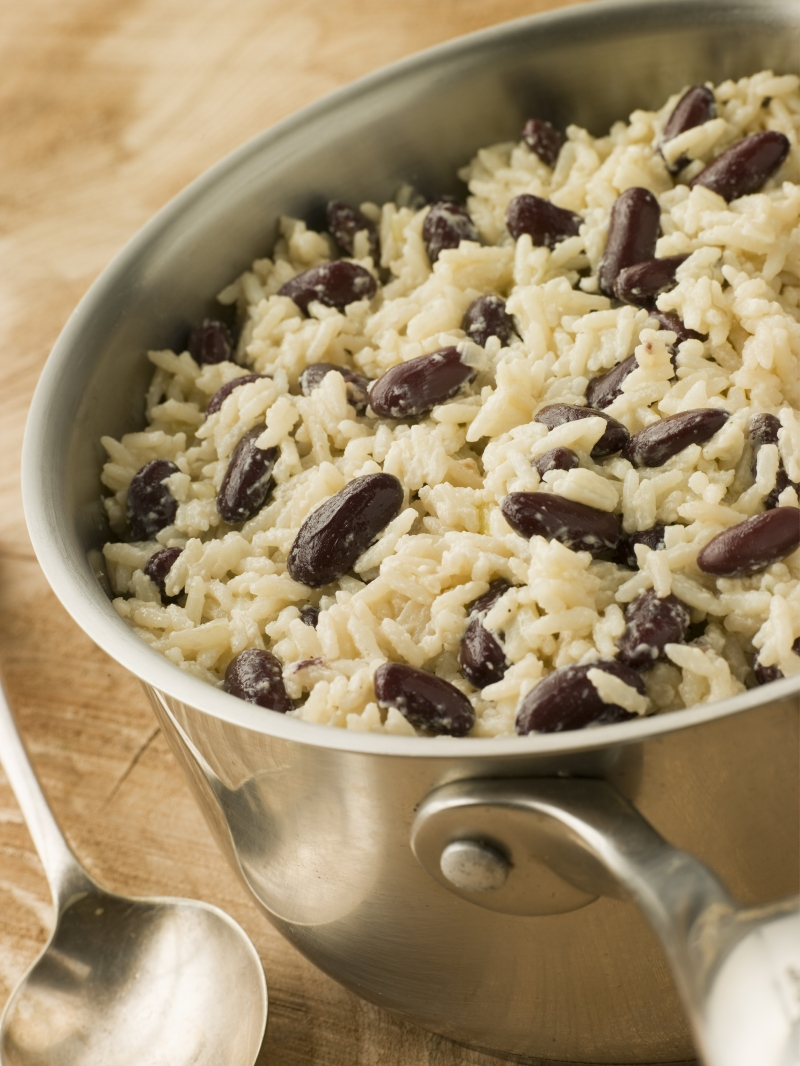 Kết hợp gạo và đậu