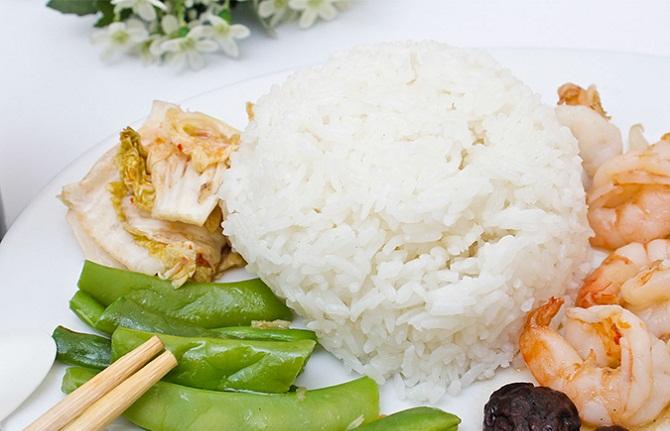 Cơm gạo Xi dẻo