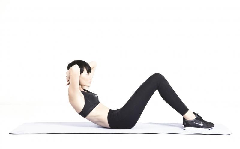 Gập bụng có tác dụng giảm cân