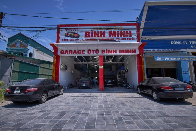 Gara Ô tô Bình Minh