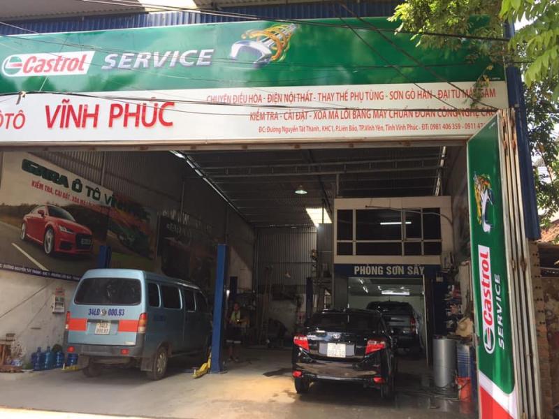 Gara Ô tô Vĩnh Phúc
